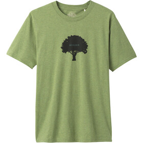 Prana Tree Hugger Journeyman SS T-Shirt Men matcha heather